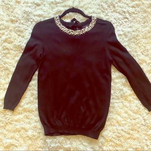 For Cynthia embellished sweater